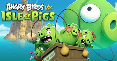 Juego Angry Birds vr